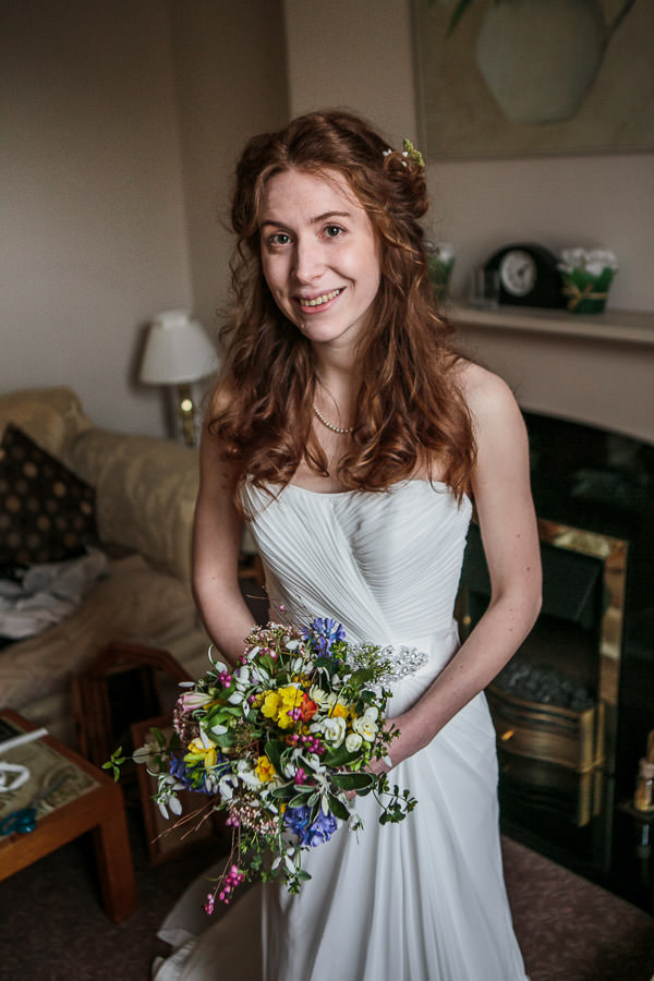 Rustic Cosy Wedding Pretty Natural Bride Hair Make Up http://www.tierneyphotography.co.uk/