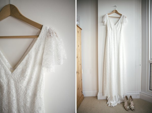 Charlie Brear Dress Rustic Tipi Wedding http://www.kat-hill.com/