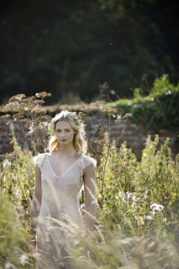 Cecile by La Poesie Dress Beautiful Rustic Woodland Bridal Bride http://www.careysheffield.com/