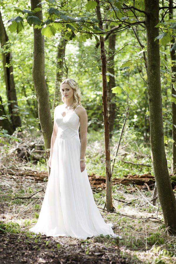 Ida by Maria Senvo Dress Beautiful Rustic Woodland Bridal Bride http://www.careysheffield.com/