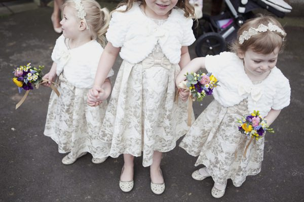 Quirky Floral Spring Wedding Flowergirls http://www.philippajamesphotography.com/