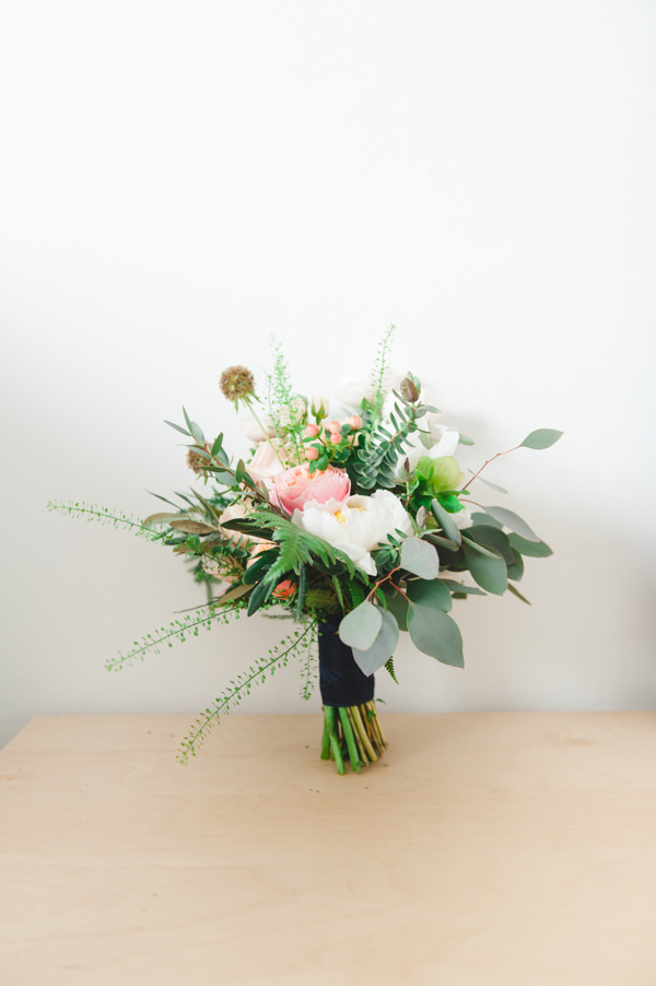 Mismatched City Chic Wedding Peony Bridal Bouquet http://mackphotography.co.uk/