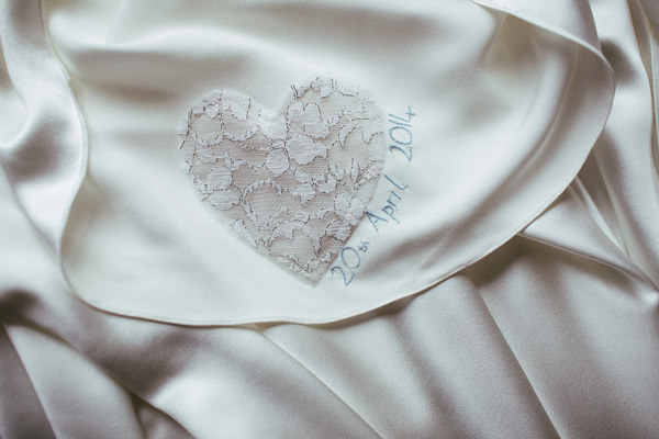 Quirky Stylish Barn Wedding Dress Heart Embriodery http://www.mikeandtom.co.uk/