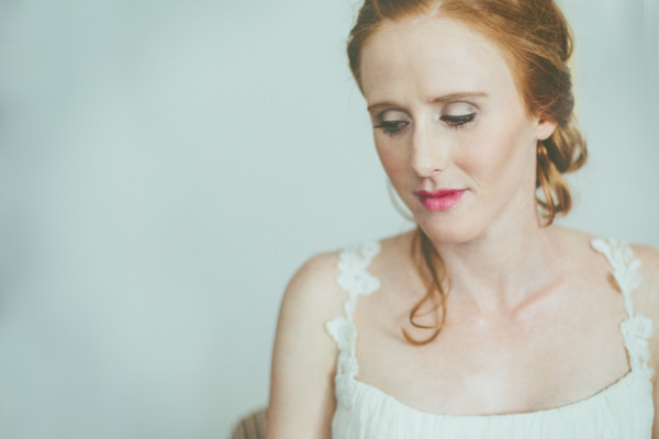 Intimate Cotswolds Village Garden Marquee Wedding Pink Lipstick Bride http://www.traceyhosey.co.uk/