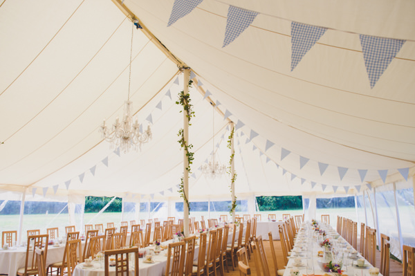 Vintage Wildflower Meadow Wedding Marquee http://annamorganphotography.co.uk/