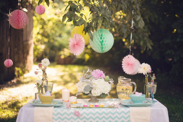 Retro Aqua & Pink Engagement Ideas Wedding Lanterns http://audrawrisley.com/