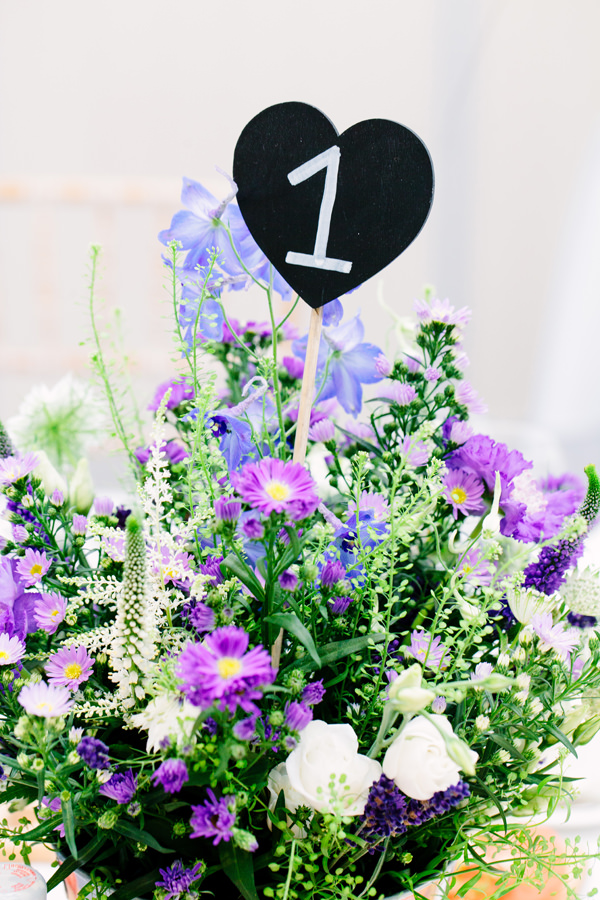 Natural Beach Lavender Wedding Purple Lilac Flowers Table http://hayleysavagephotography.co.uk/