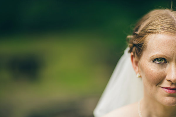 Quirky Campsite Outdoor Wedding Natural Bridal Make Up http://www.lifelinephotography.co.uk/