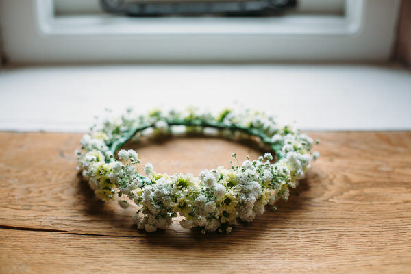 Country Rustic Tipi Wedding Flower Crown Garland Bridal http://www.redonblonde.com/
