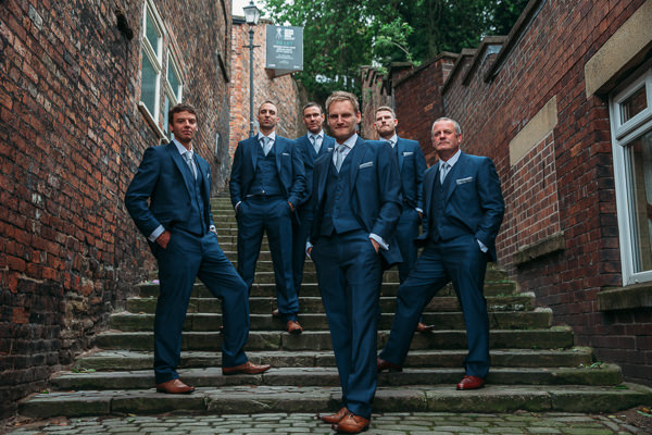 Country Rustic Tipi Wedding Navy Suit Groom http://www.redonblonde.com/