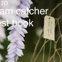 DIY Dream Catcher Wedding Guest Book Tutorial