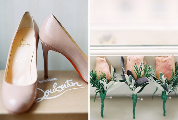 Christian Louboutin Shoes Classic Elegant London Wedding http://www.depict-photography.com/