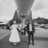 Fun Retro Concorde Wedding http://www.sophieduckworthphotography.com/