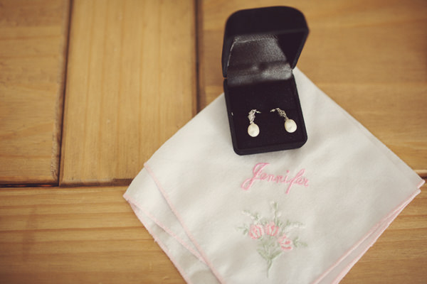 Sweet Friendly Homemade Wedding Personalised Handkercheif Bride  http://www.rebeccadouglas.co.uk/blog/