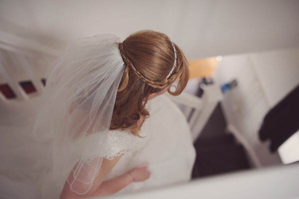Sweet Friendly Homemade Wedding Plait Braid Half Up Down Bride Hair Style http://www.rebeccadouglas.co.uk/blog/