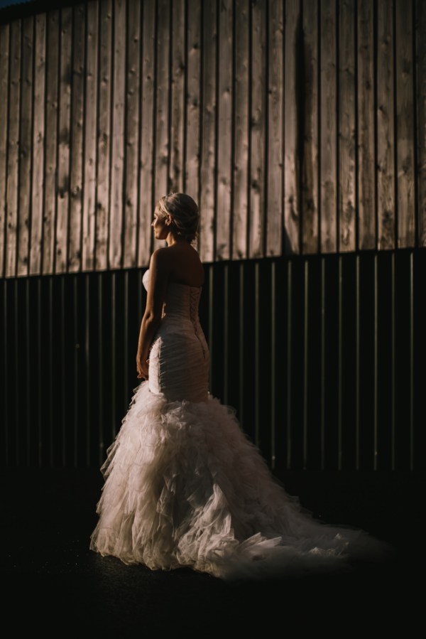Essence of Australia  Dress Bride Stylish White DIY Floral Filled Barn Wedding http://www.chrisbarberphotography.co.uk/