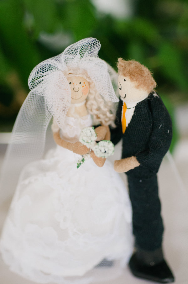 Whimsical Made With Love Wedding Holiday Cake Topper http://rosieanderson.co.uk/