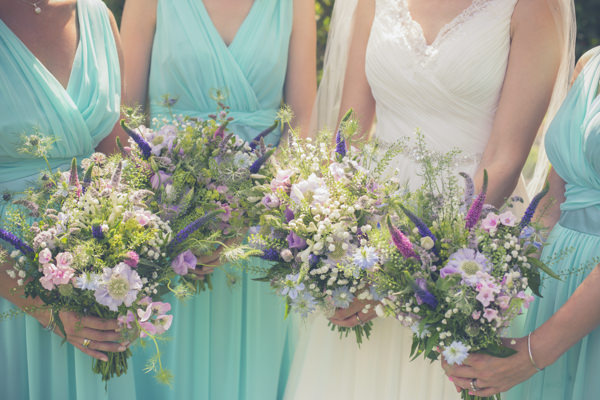 Humanist Outdoor Field Tipi Wedding Wild Natural Bouquets Flowers  http://www.83photography.co.uk/