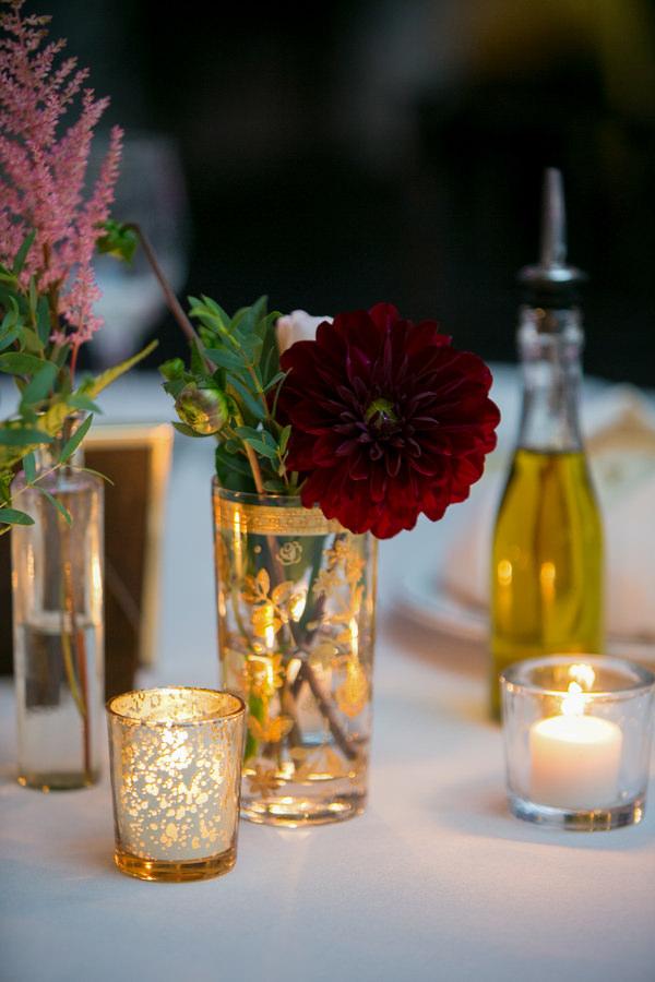 Simple Elegant Black Tie Minnesota Wedding Tea Lights http://www.erinjohnsonphotoblog.com/
