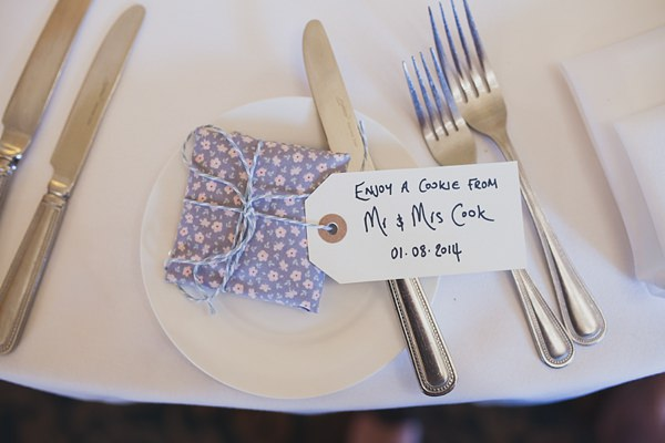 Royal Blue Vintage Glamour Wedding Cookie Favours  http://www.sallytphotography.com/