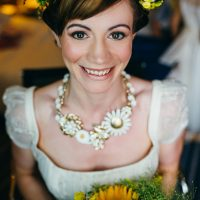 Earthy Natural Rustic Yellow Turquoise Wedding http://www.graceandtheheart.co.uk