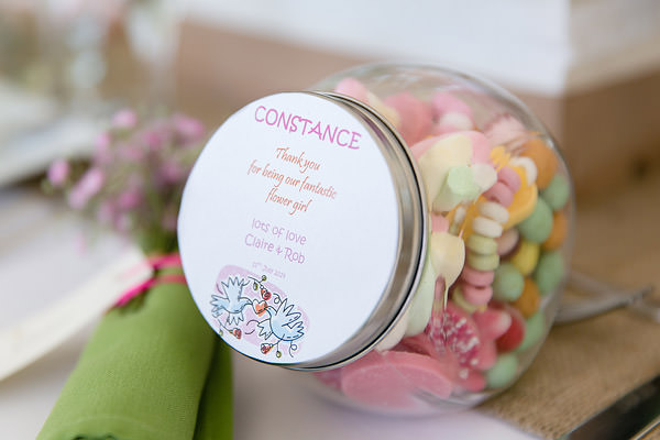 Magical Romantic Pink Green Fairy Lights Wedding Sweet Favours  http://www.touchphotography.co.uk/