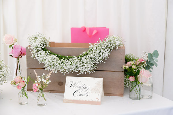 Magical Romantic Pink Green Fairy Lights Wedding Cards Crate http://www.touchphotography.co.uk/