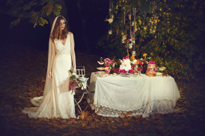 "SHANNA MELVILLE - Wedding Dress - Collection AW 2014 - 7 ""Grace"""