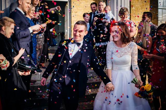 Simple Fun Colourful Quirky London Wedding http://www.mariannechua.com/