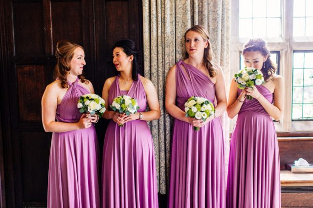 Lilac Purple Multi Way Dresses Bridesmaids Long Classic Timeless Oriental Twist Wedding http://www.aaroncollettphotography.co.uk/