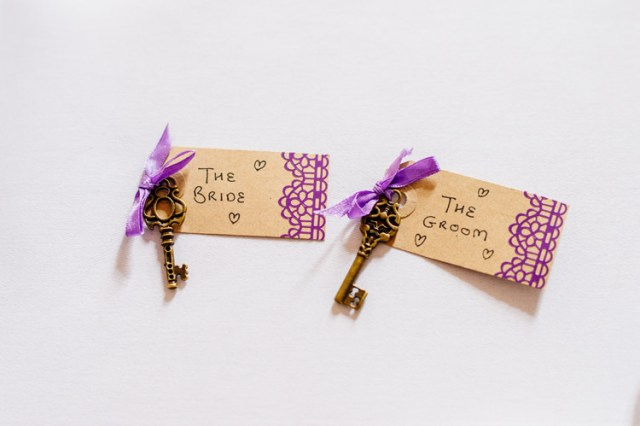 Key Luggage Tag Place Names Decor Classic Timeless Oriental Twist Wedding http://www.aaroncollettphotography.co.uk/