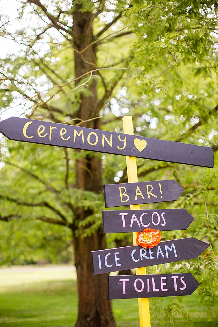 Creative Colourful Mexican Feel Outdoor Wedding Whimsical Wonderland