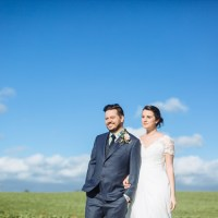 Stylish Relaxed Pink Blue Spring Barn Wedding http://jamesandlianne.com/