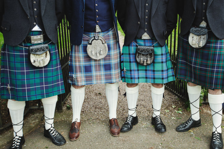 Kilt Groom Natural Country Pub White Wedding http://www.gemmawilliamsphotography.co.uk/