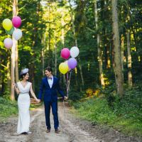 Stylish Whimsical Garden Wedding in Poland http://www.timeofjoy.eu/