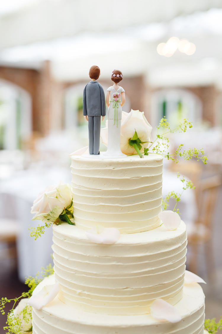 Bride Groom Cake Toppers Soft Modern Vintage Garden Wedding http://kirstenmavric.co.uk/