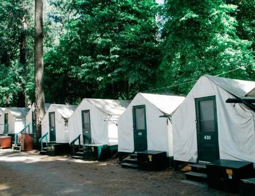 Whimsy Soul Half Dome Village in Yosemite
