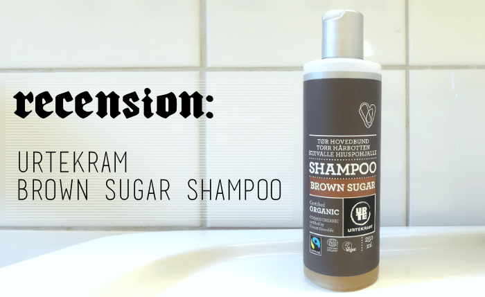 RECENSION: Urtekram Brown Sugar Shampoo