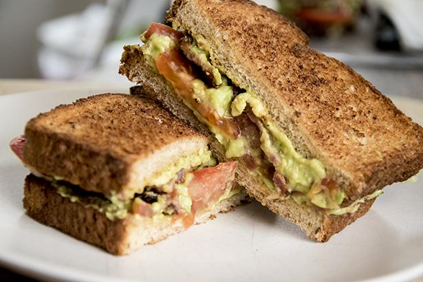 Bacon Avocado Tomato Sandwich