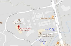 Contact   White Heron Counseling Google Map  101 Parkshore Drive in Folsom