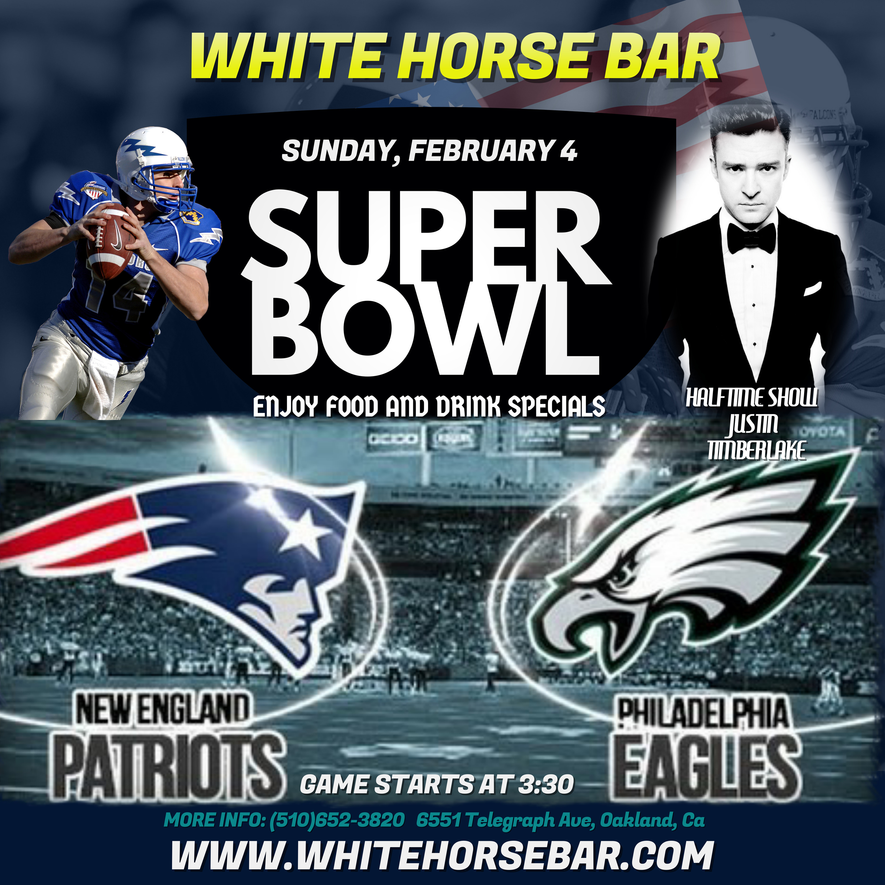 Exceptional Make At Our Annual Owl Viewing Throw On Your Jersey Come Watch Game On Horse Super Bowl Party Horse Bar Come Represent Your Team nice food Super Bowl Party