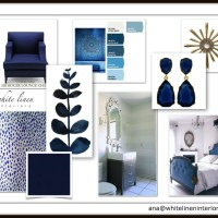 Decor Idea Board | Blue Hues