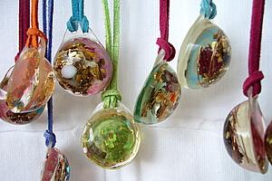 Lightstones small orgone pendants