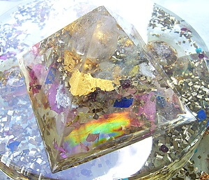 Orgone Pyramids, powerful energy tools.