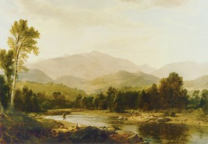 Mount Washington from the Saco River by Asher B. Durand