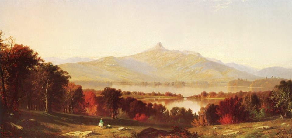 Mount Chocorua and Lake from Tamworth by Alfred Thompson Bricher