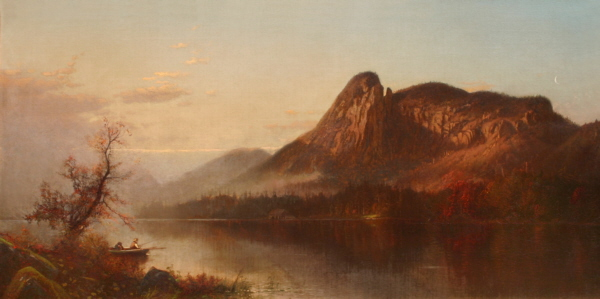 Eagle Cliff from Profile Lake by Alfred Thompson Bricher