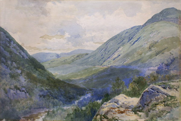 Crawford Notch from Mount Williard by Frederic Marlett Bell-Smith