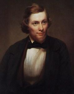 Jasper Francis Cropsey (1823-1900) by Edward L. Mooney (1813-1887)