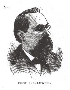 Professor Lemuel L. Lowell (1837-1914)